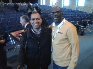 Catching up with former CHBC intern now pastoring a Baptist Church in Joburg, Gustav.